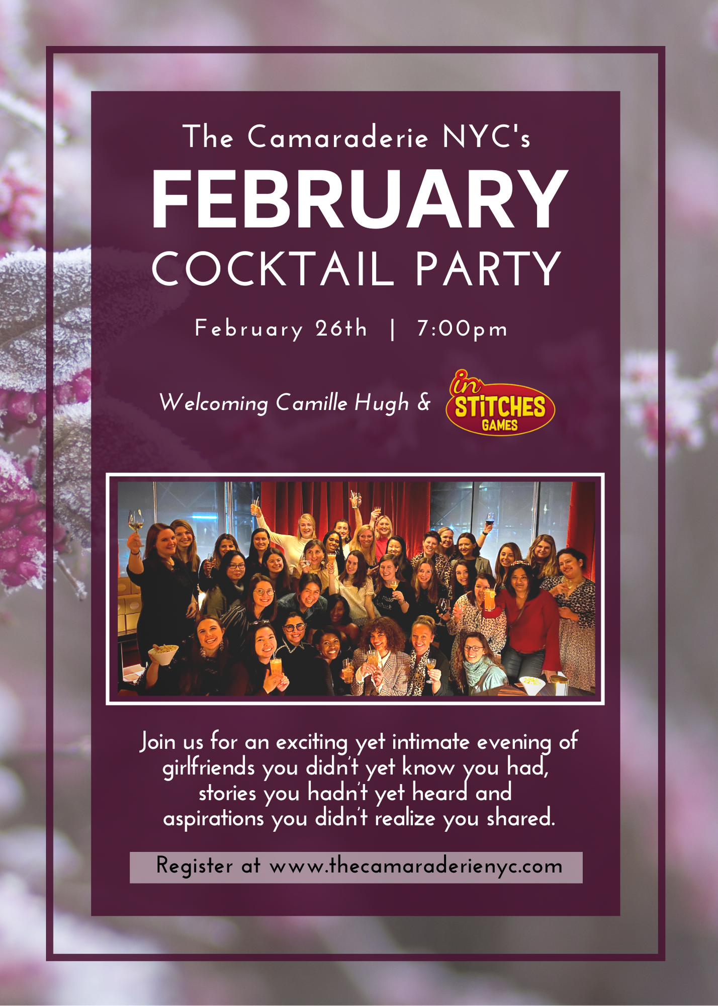 February Cocktail Party with The Camaraderie NYC